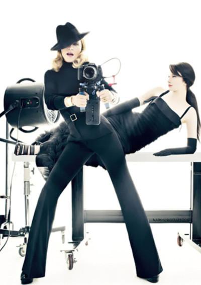 Мадонна в Harper's Bazaar. Изображение № 8.