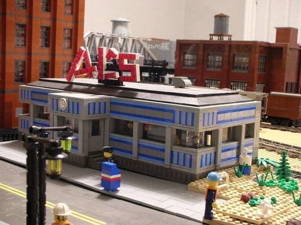 Изображение 8. Улицы Нью-Йорка из конструктора LEGO.. Изображение № 8.