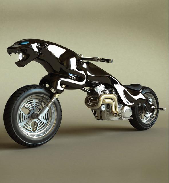 Концепты мотоциклов от Massow Design. Изображение № 3.