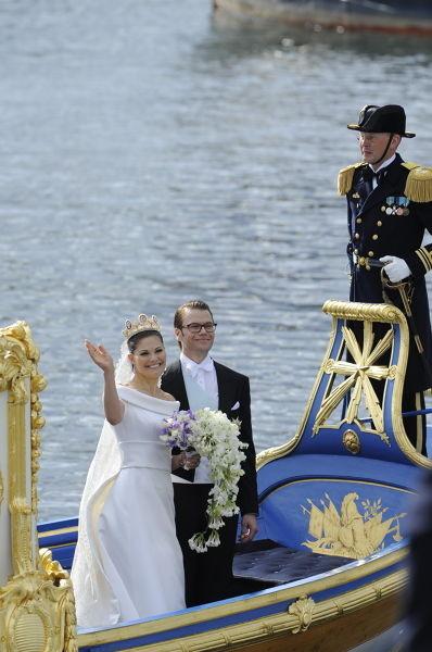 Свадьба шведской кронпринцессы Виктории. Изображение № 3.