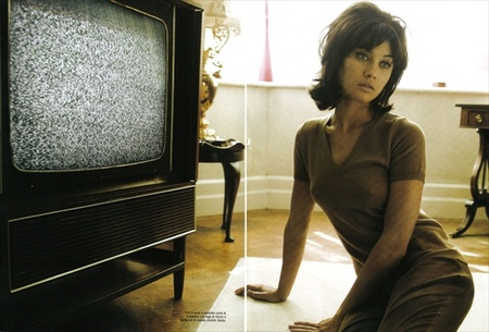 Ольга Куриленко вретро-фотосессии дляVogue Italia. Изображение № 9.