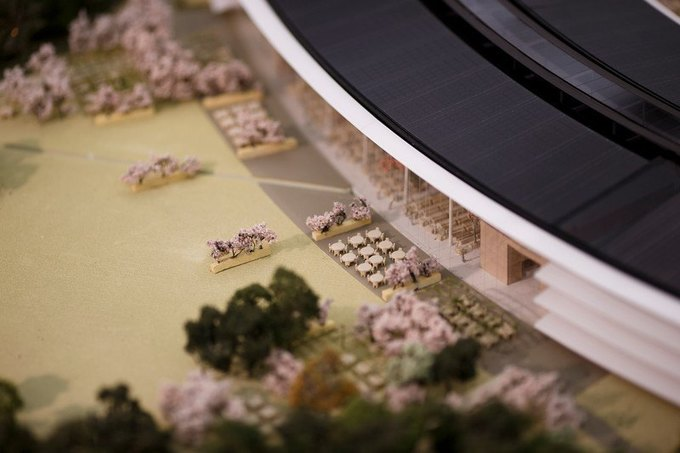 Опубликован макет футуристического кампуса Apple. Изображение № 3.