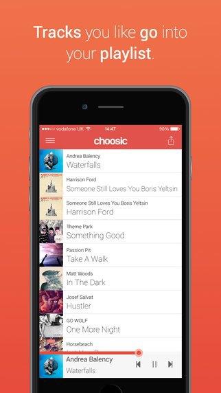 Появилось приложение в стиле Tinder для поиска музыки. Изображение № 3.