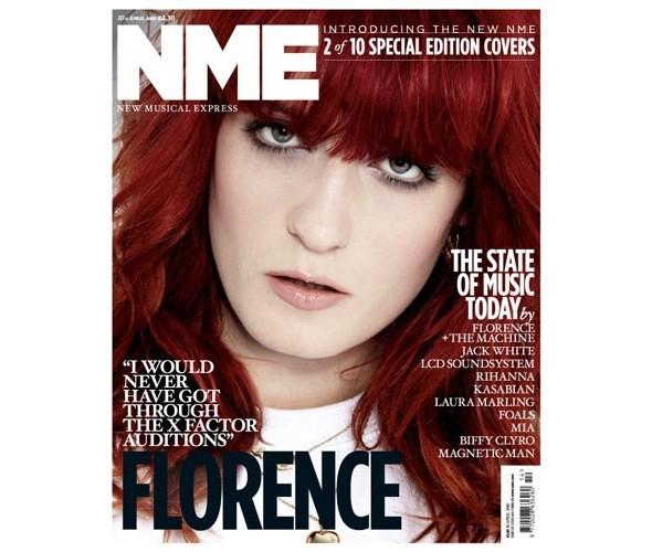Новый дизайн и десять обложек NME. Изображение № 4.