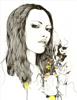 Иллюстрации Дэйвида Брэя грация исексуальный подтекст. Изображение № 8.