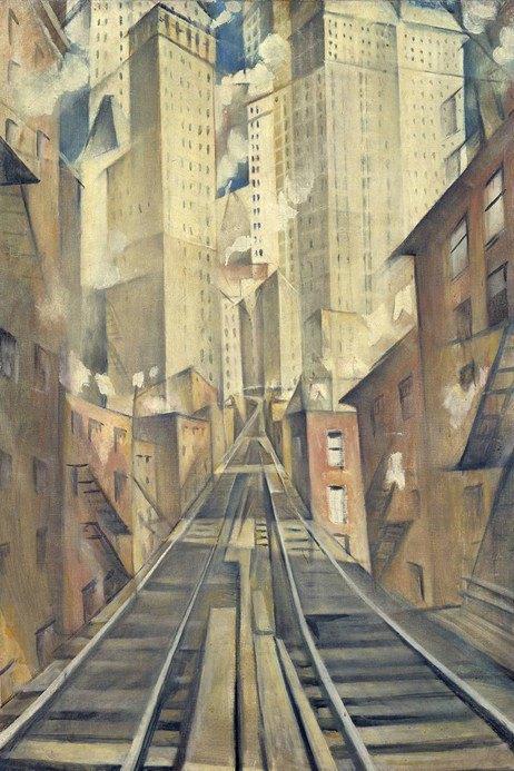 «Душа бездушного города» Кристофера Невинсона. Изображение № 4.