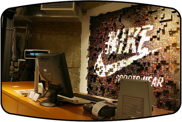 CASHDESK GRAPHIK FOR NIKE. Изображение № 7.