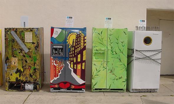 Изображение 35. 50 холодильников, которые можно назвать арт-объектами.. Изображение № 35.
