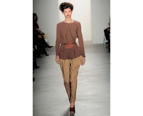 Неделя моды в Нью-Йорке: второй день. Изображение № 24.