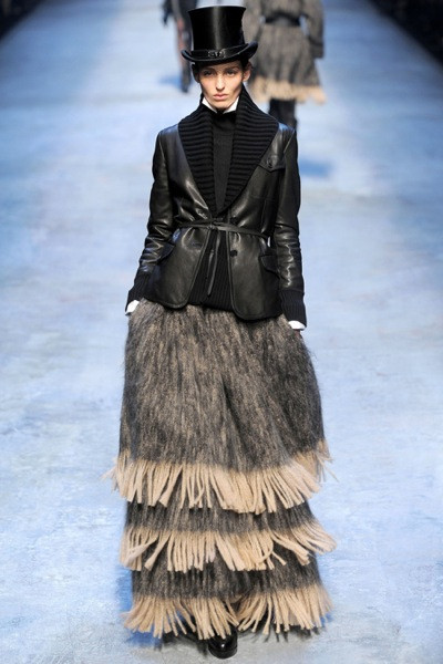 Jean Paul Gaultier for Hermes (fall-winter 2010). Изображение № 25.