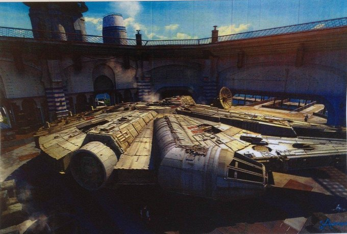 В Сеть выложили 32 концепт-арта для «Звёздных войн VII». Изображение № 12.