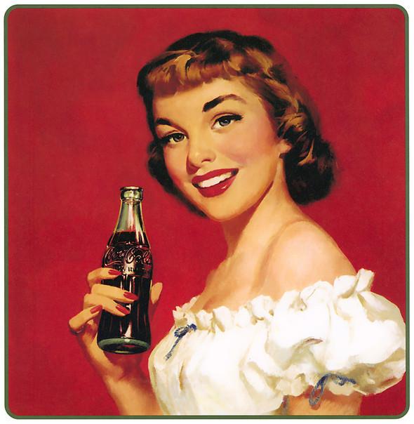 Рекламные плакаты coca-cola. Изображение № 18.
