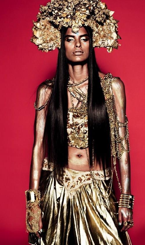 Индийские модели. Изображение № 22.