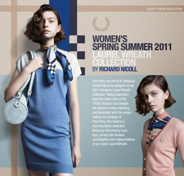 Изображение 1. Women's spring Summer 2011 Laurel Wreath collection by Richard Nicoll.. Изображение № 1.