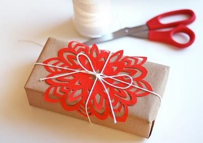 55 идей для упаковки новогодних подарков. Изображение №64.