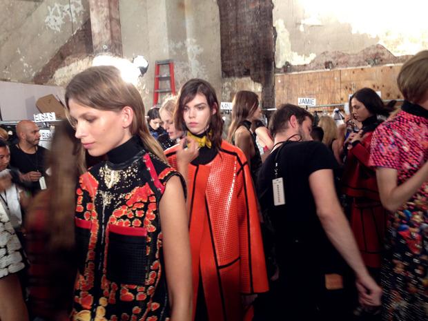 Дневник модели: Эксклюзив для Proenza Schouler на Нью-Йоркской неделе моды. Изображение № 33.