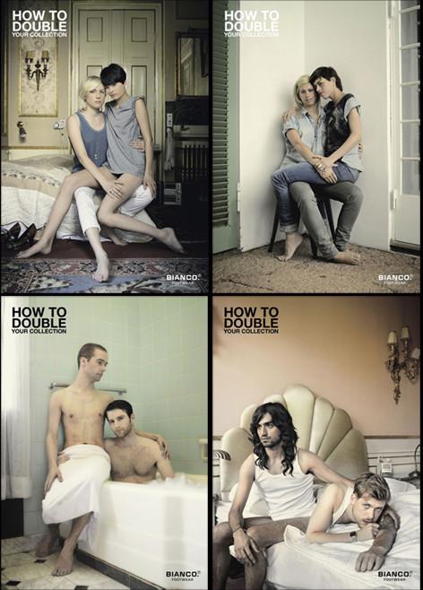 Однополая любовь в рекламе. Изображение № 4.