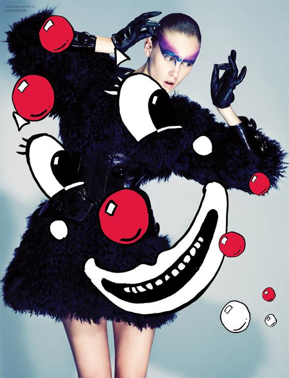 Съёмка: Марике Ле Ру в Louis Vuitton для 10. Изображение № 3.