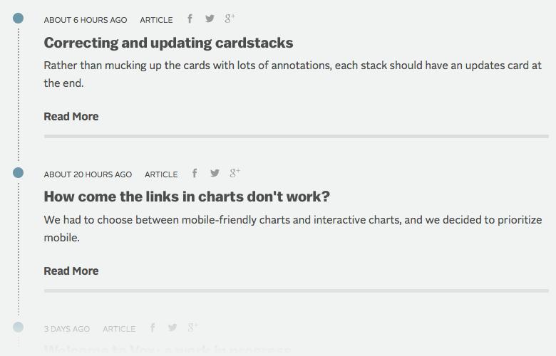 Сайт Vox помогает разобраться в мировых новостях. Изображение № 8.