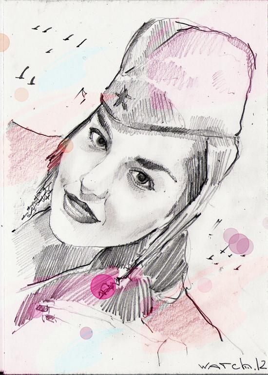 Sketch portraits. Изображение № 8.