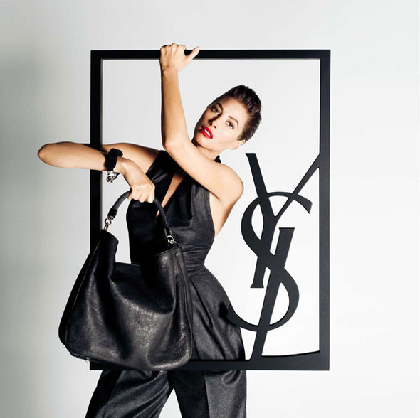 Turlington for YSL and Bally. Изображение № 6.