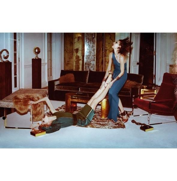Изображение 14. Рекламные кампании: Lanvin, Prada, Balenciaga и другие.. Изображение № 4.