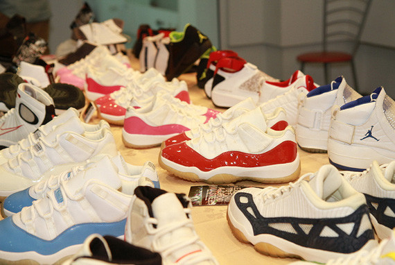 Air Jordan XI Samples & PEs @ K-PALS 2012. Изображение № 1.