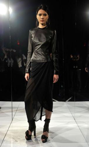 Lublu Kira Plastinina FW 2011 на показе на Нью-Йоркской неделе моды. Изображение № 25.
