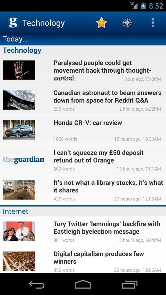 Мобильное приложение The Guardian получило глобальный редизайн. Изображение № 2.