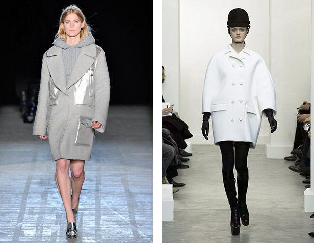 Объемные пальто Alexander Wang и Balenciaga . Изображение № 5.
