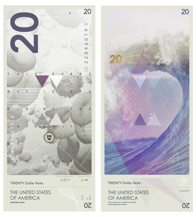 Американец представил редизайн доллара США. Изображение № 4.