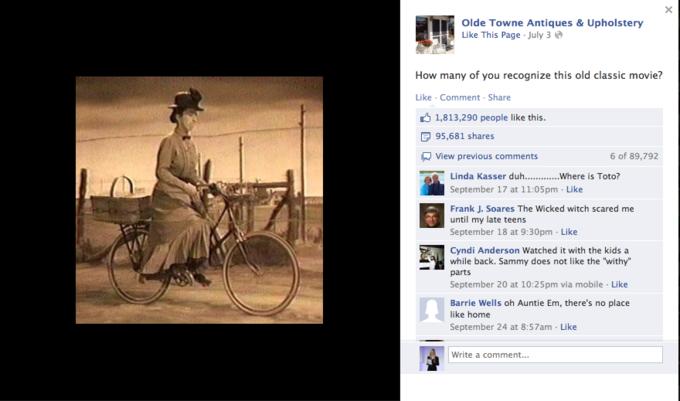 Названы самые популярные фото года в «Фейсбуке». Изображение №10.