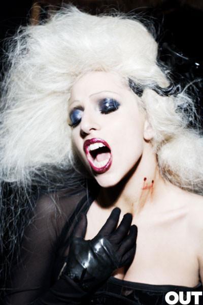 Lady Gaga дляOUT (Сентябрь 2009). Изображение № 8.