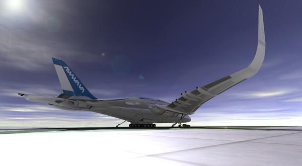 Дизайнер показал проект самолёта будущего. Изображение № 6.