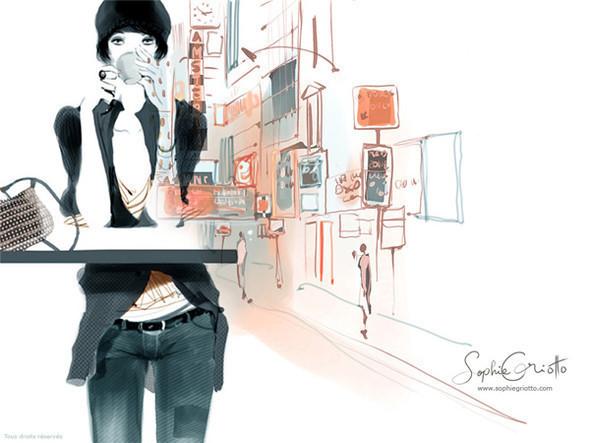 Иллюстрации Sophie Griotto. Изображение № 4.