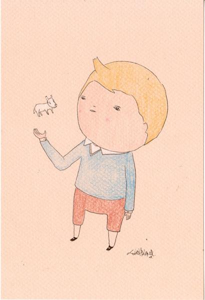 Карандаши какхолст. Изображение № 11.