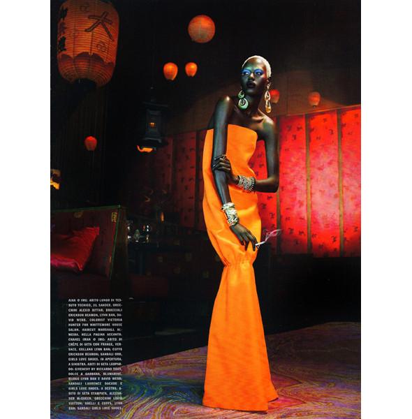 Изображение 13. The Blackallure: съемка с темнокожими моделями в итальянском Vogue.. Изображение № 13.