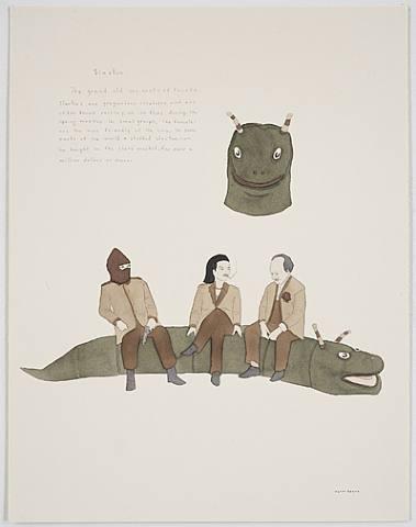 Канадский художник Marcel Dzama. Изображение № 20.