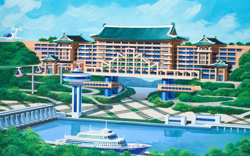 Какой видят архитектуру будущего  в Северной Корее . Изображение № 9.