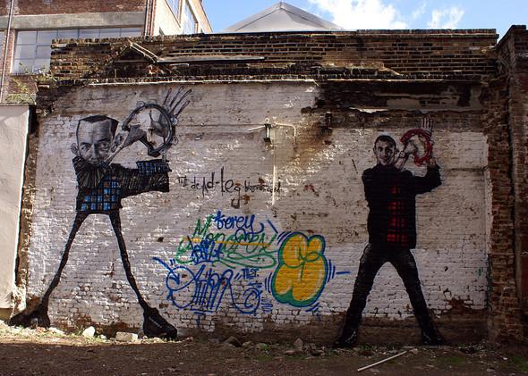 Стрит-арт в Лондоне. Изображение № 34.