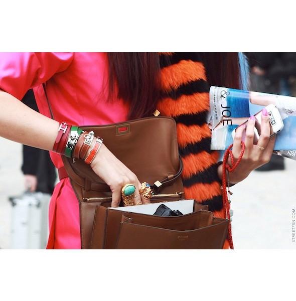 Изображение 72. На полях: 10 тенденций уличного стиля с прошедших недель моды.. Изображение № 72.