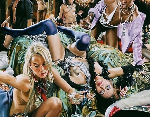 Изображение 20. Терри Роджерс выбрал для своего творчества тему молодежных фетишей: желание во всех ее переизбытках.. Изображение № 20.