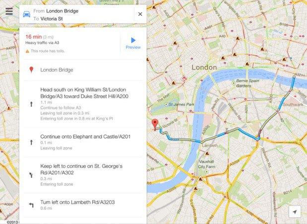 Вышло обновление приложения Google Maps для iOS. Изображение № 1.