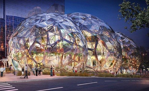 Amazon построит биокуполы в Сиэтле. Изображение № 3.