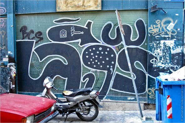 Стрит-арт и граффити Афин, Греция. Изображение № 21.