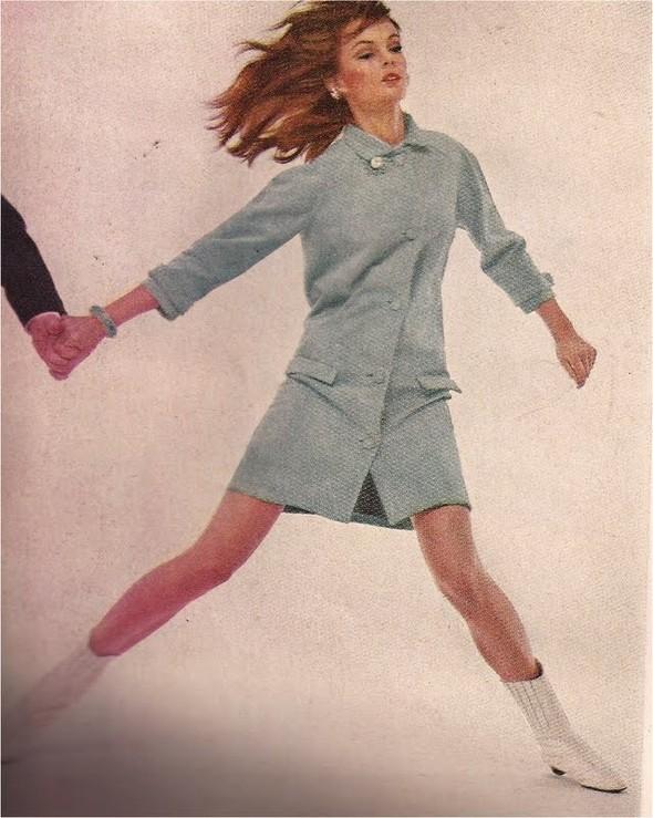Архивная съёмка: Джин Шримптон и Стив Маккуин для Harper's Bazaar. Изображение № 4.