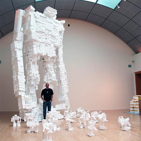 Роботы изпенопласта Майкла Салтона. Изображение № 2.