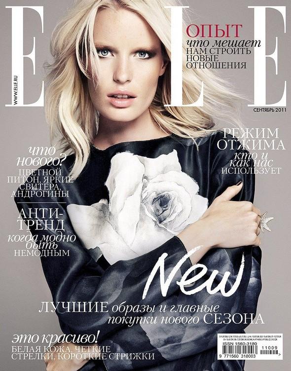 Обложки: Elle и Harper's Bazaar. Изображение № 2.