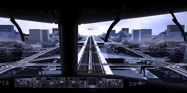 Студент предложил концепт надземного аэропорта в городе. Изображение № 6.