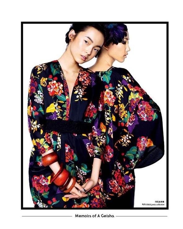 Съёмка: Лина Чжан, Мин Фэй Ни и Сяо Вэнь Цзюй в H&M для SHC. Изображение № 7.